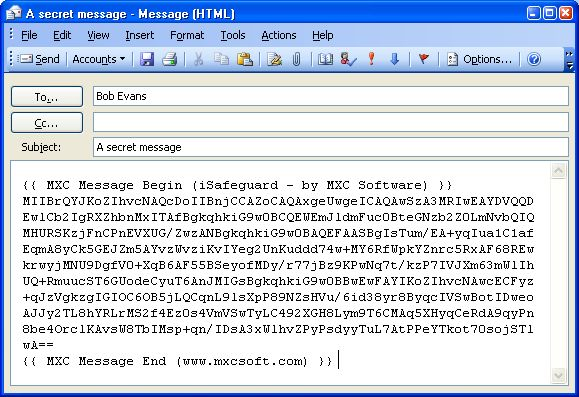 encrypt text messages